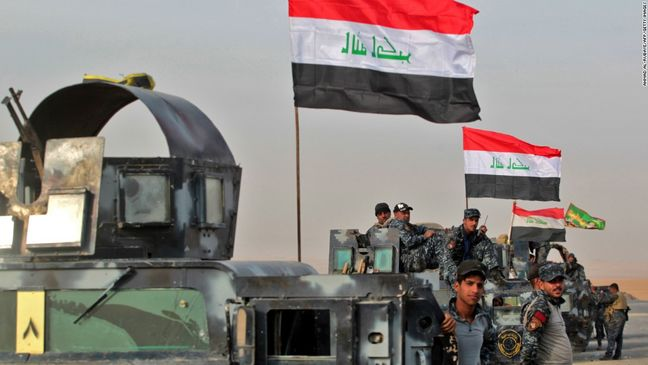 Iraqi special forces seize Mosul district in fresh push
