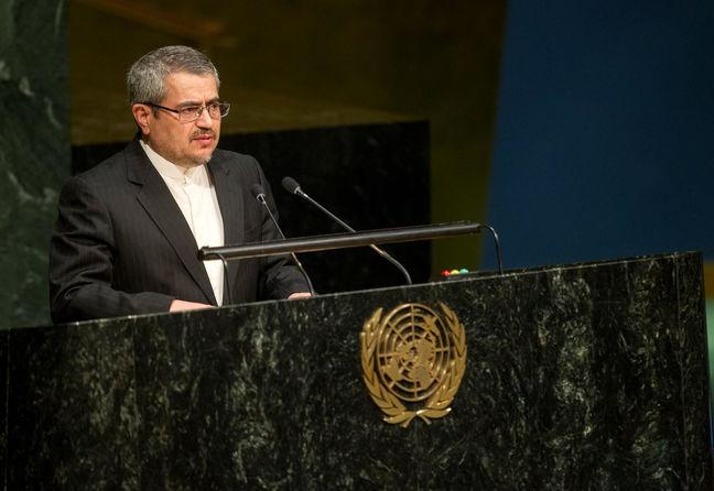 Total elimination of WMD is top priority: Iran's UN envoy