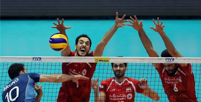 Iran beats Argentina in FIVB World League