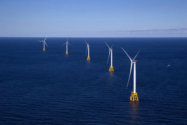 Race to Build Offshore Wind Farms That Float on Sea Gathers Pace