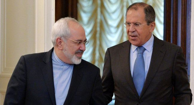 Zarif, Lavrov discuss on Syria in Lausanne