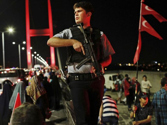 Turkey says suspends 12,801 police over alleged links with cleric Gulen