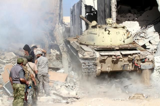 Libyan forces face deadly Islamic State defense in Sirte holdout