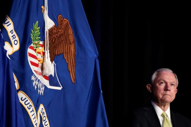 Sessions Calls Notion He Colluded With Russia a 'Detestable Lie'