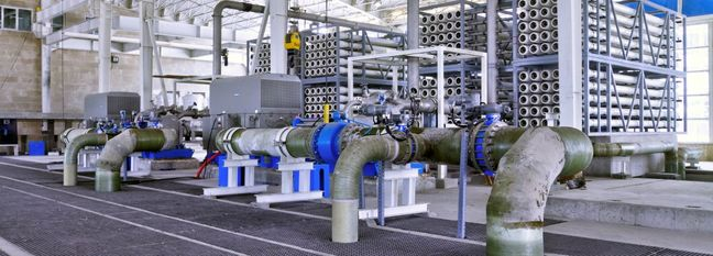 Desalination Spreads as Water Stress Rises