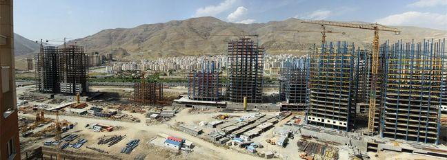 Housing Construction Dwindles in Iran