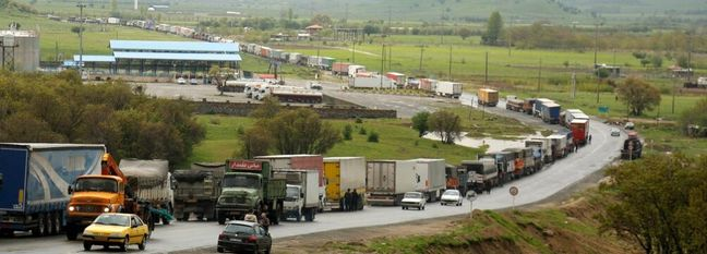 Bashmaq First in Goods Transit Among Iranian Border Terminals