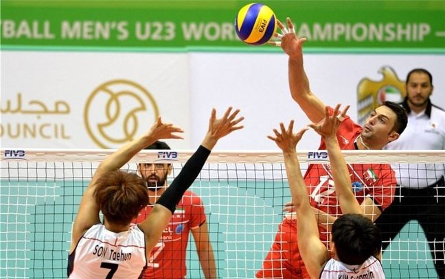 Iran wins title in Asian U-23 Volleyball Championship
