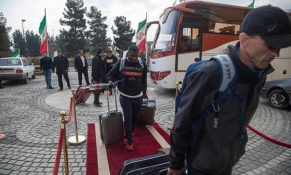 US wrestling team welcomed in Iran