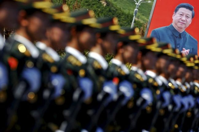 China's Xi pushes advanced technology for military