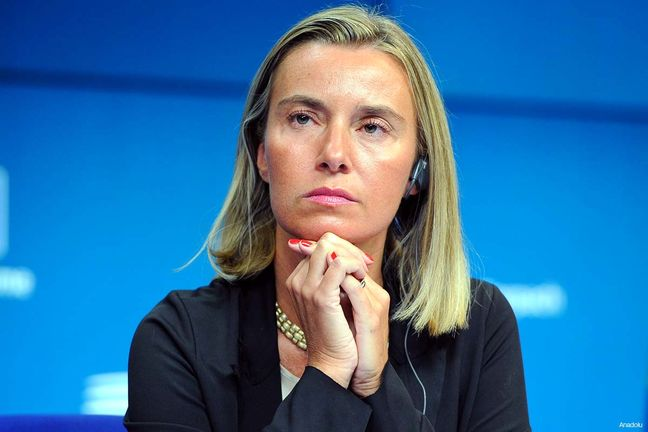 Mogherini congratulates Rouhani on Iran election win