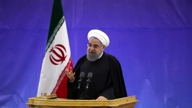 Rouhani: US angry with JCPOA