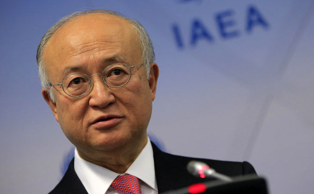 IAEA chief in Iran Sunday morning to discuss JCPOA