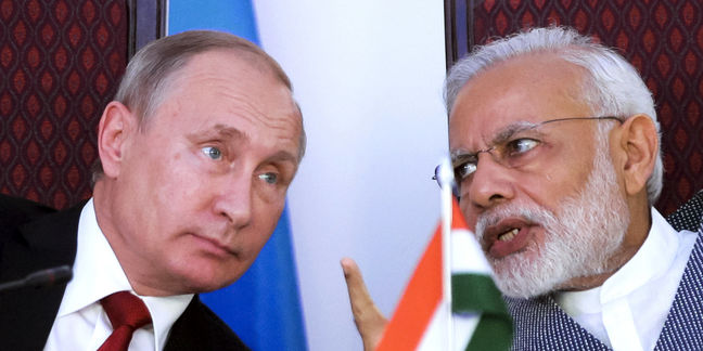 India and Russia sign energy, defense deals worth billions