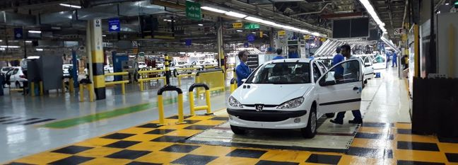 Iran Auto Output Down 32%