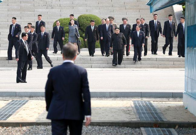 Trump Floats Holding North Korea Summit in Peace House Near DMZ