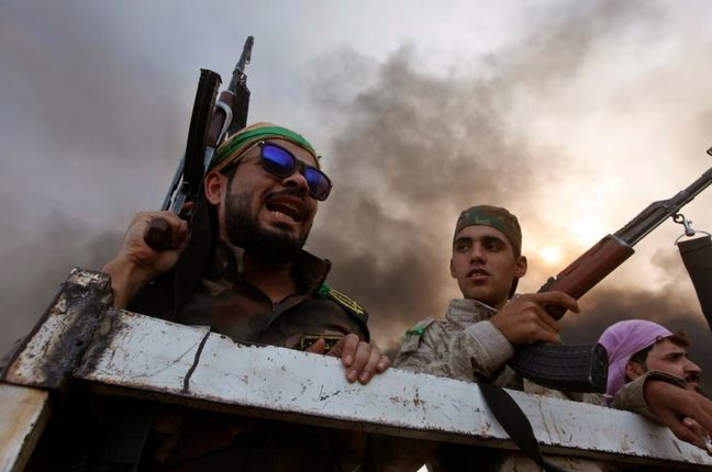Iraqi army drives Islamic State from Christian region near Mosul
