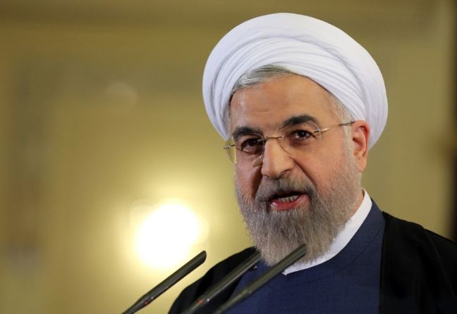 Iranian President Welcomes Macron's Election