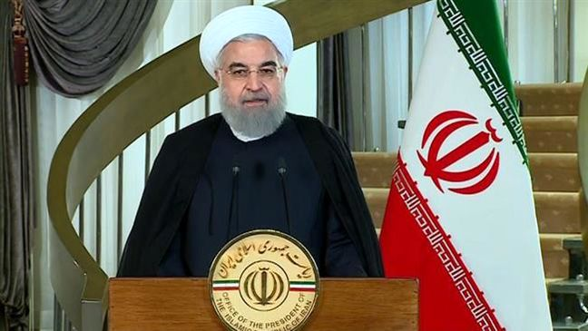 US president's anti-Iran speech pile of delusional claims: Rouhani