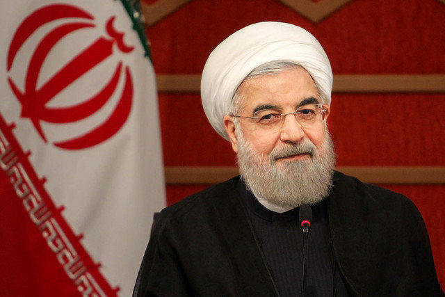 Rouhani suggests trying to be a powerful region not a powerful country