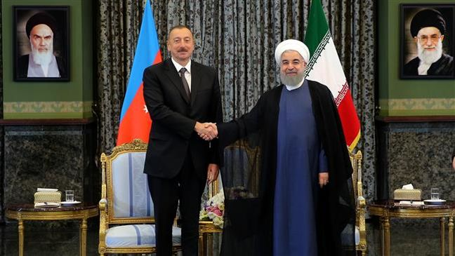 Iran, Azerbaijan presidents call for boosting trade, economic ties