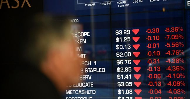 Asian stocks fall for 3rd day on commodity fears, China hits three-month lows
