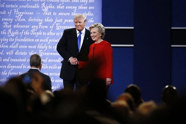 Tale of the Tape: Trump and Clinton Drop Gentility for Hostility