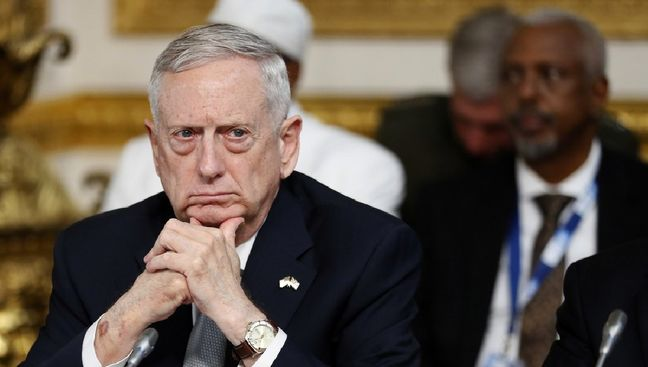 Trump Ordered Changes to 'Annihilate' Islamic State, Mattis Says