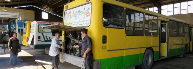 Tehran Public Transport Gets a Shot in the Arm