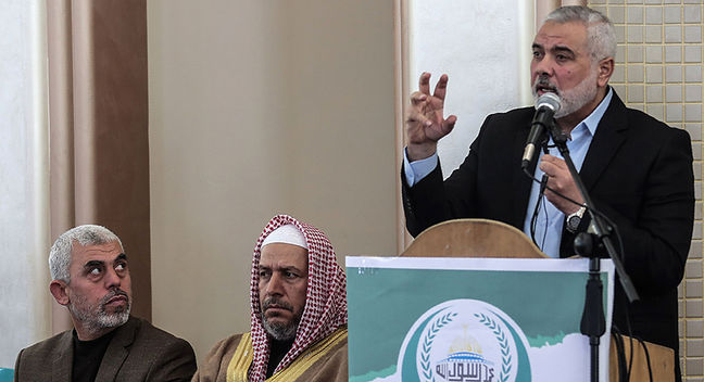 Hamas Moves to Soften Charter, But Still Won't Recognize Israel