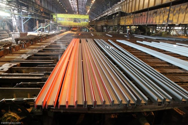 Semis Top List of Iranian Steel Exports