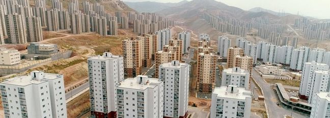 Iran: Housing Projects Juxtaposed