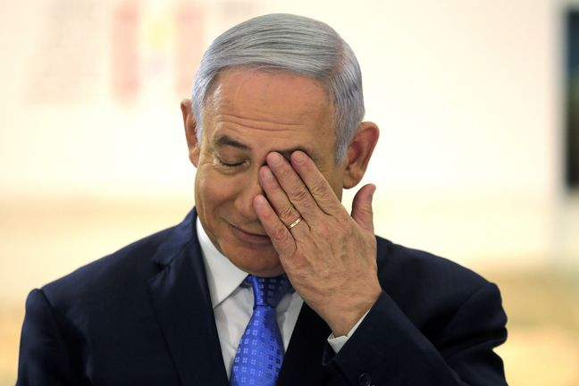 Netanyahu in Trouble