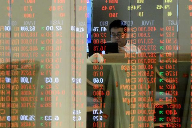 Asia stocks to end 2016 on buoyant note, euro calms after early spike