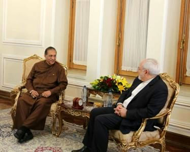 Zarif: Iran keen to broaden trade ties with Sri Lanka
