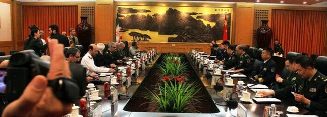 Iran, China Eager to Improve Defense Coop.