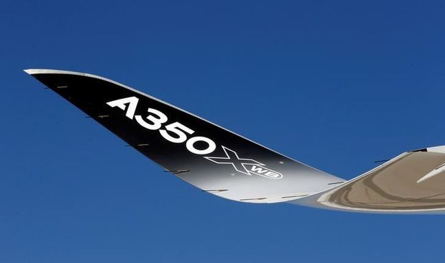 Biggest Airbus A350 Debut Signals Triumph of Two-Engine Jets