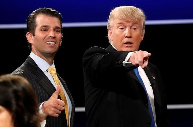 Trump Campaign Paid $50,000 to Firm Now Representing Son