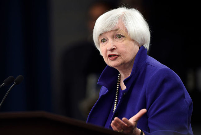 Fed on course to raise interest rates at an upcoming meeting: Yellen