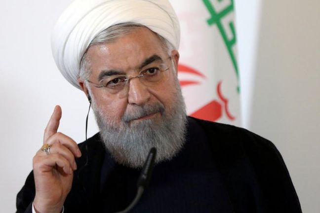 Iran's Rouhani warns Trump about 'mother of all wars'