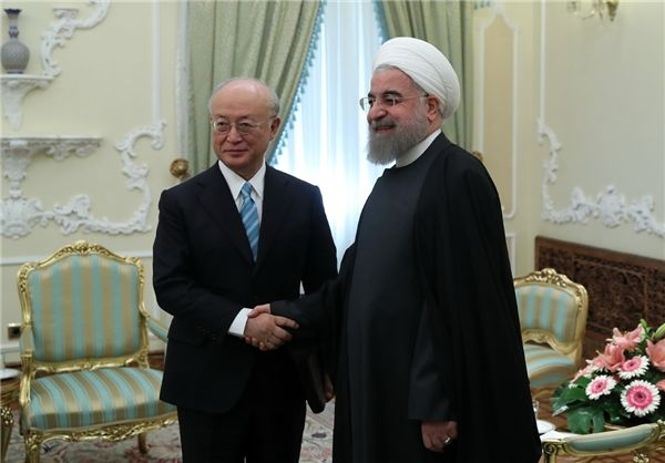 Iran says satisfied with IAEA performance