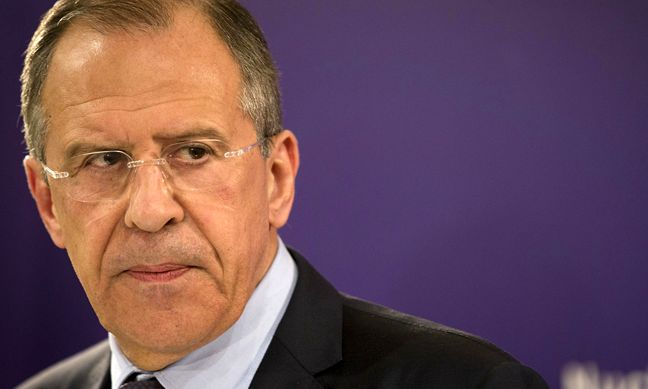 Lavrov turns pizza man to show up 'slow' Kerry
