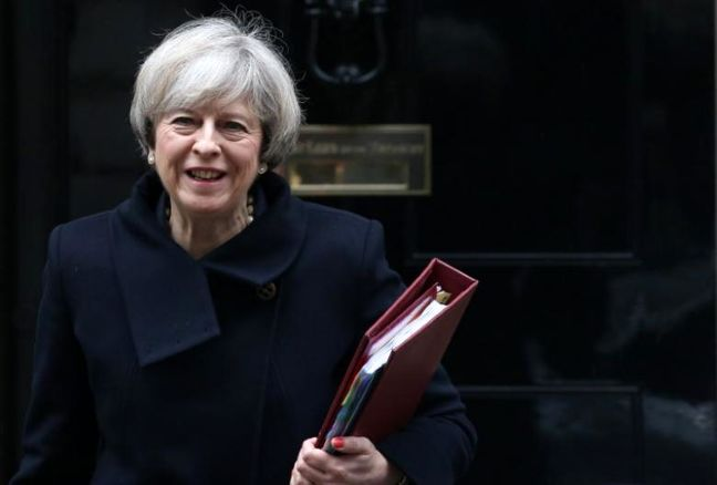 May's Authority Tested After Rivals Promoted to Save Premiership
