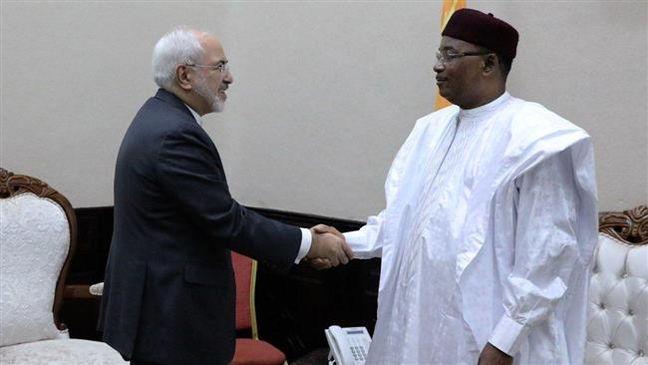On last leg of Africa tour, Zarif meets Niger officials
