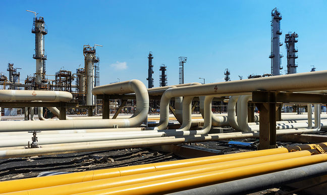 Decline in Gas Condensate Exports
