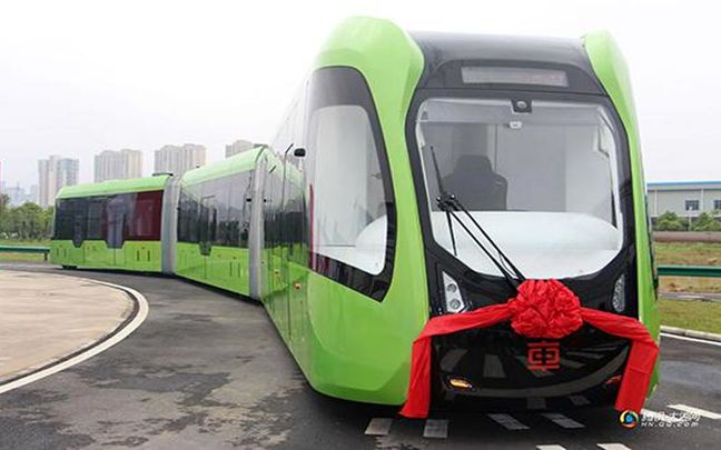 China's Trackless Tram May Be Good for Iran