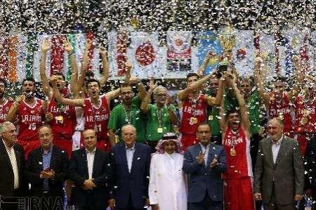 Iranian U18 basketballers win Asia championship