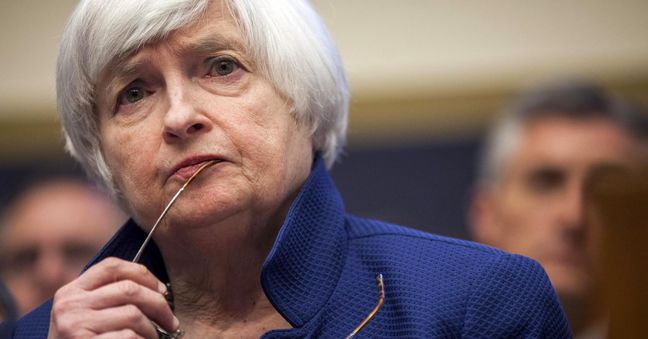 Yellen Says Imprudent to Stay on Hold Until Inflation at 2%