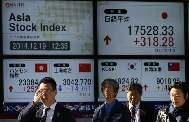 Asia Stocks Mixed Before Korea Drill, Jackson Hole
