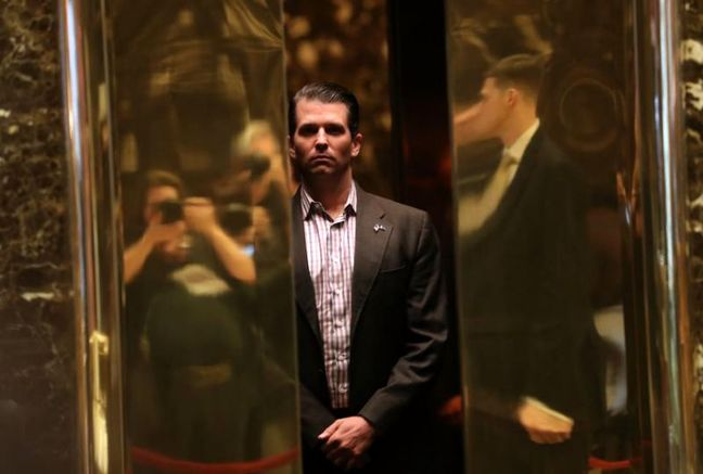 U.S. Secret Service rejects suggestion it vetted Trump son's meeting